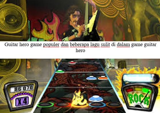 GAME GUITAR HERO GAME POPULER DI PLAYSTATION